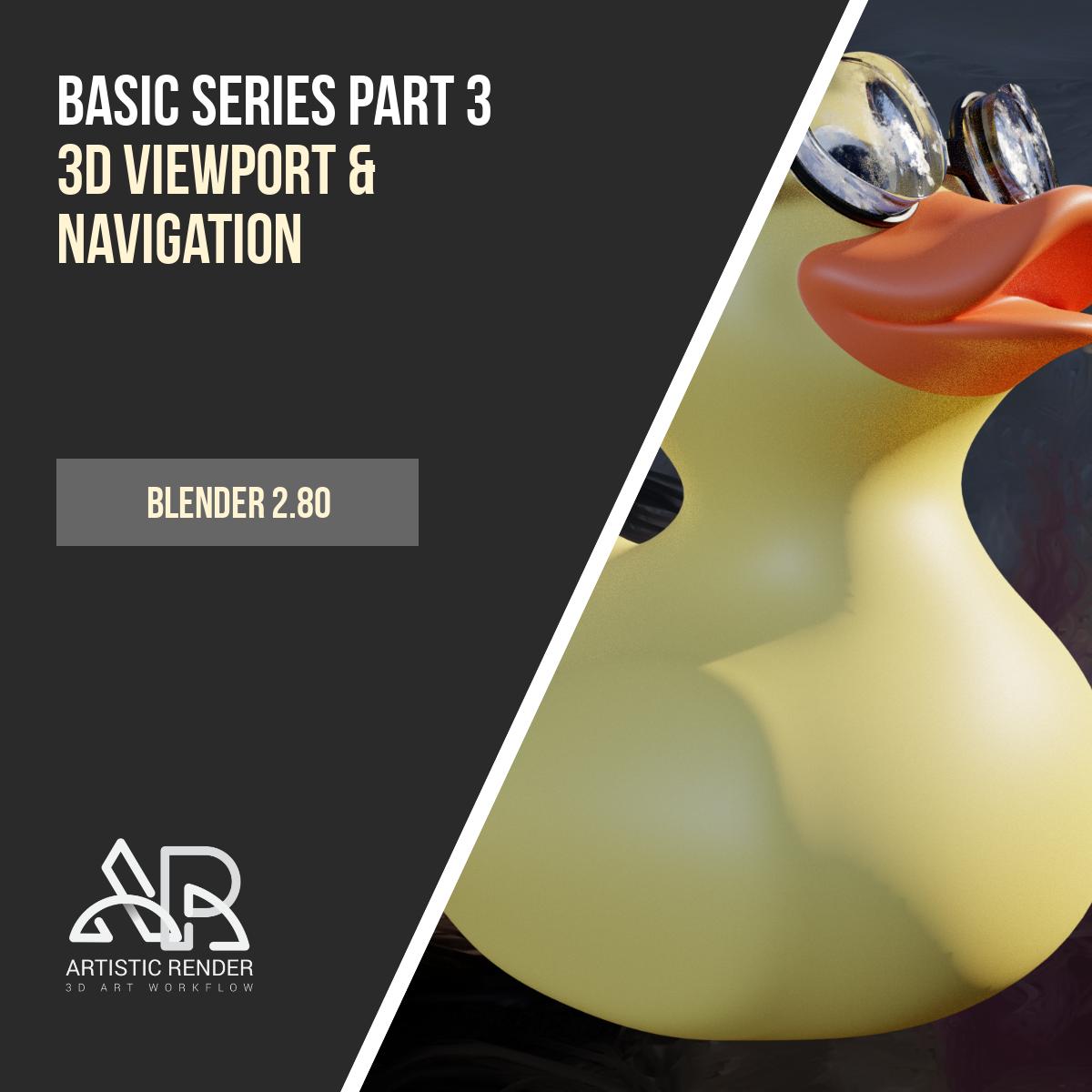 Blender 2 8 Viewport navigation – Basics part 3