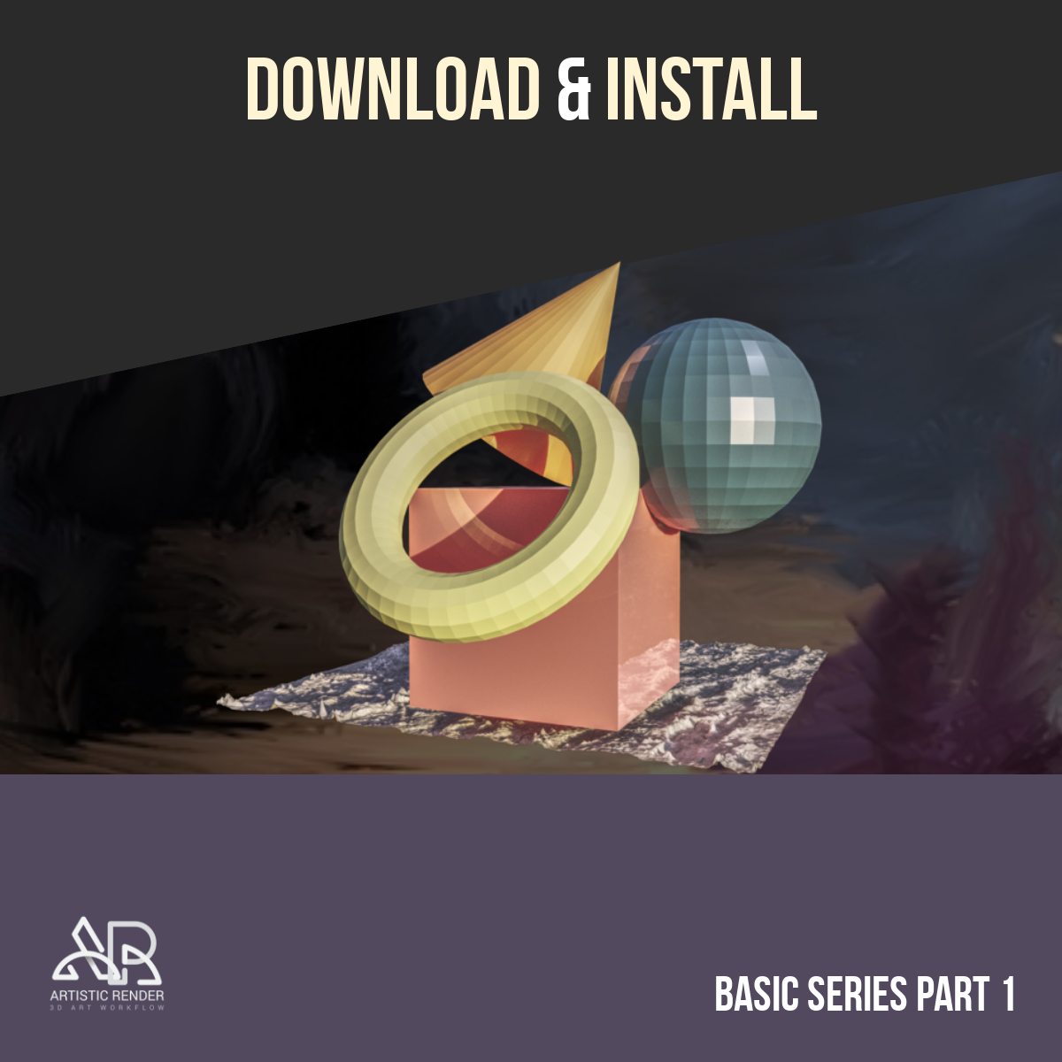 Blender 2.8 download install basics part 1