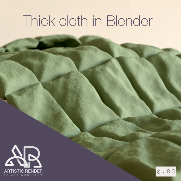 Blender cloth simulation feature image
