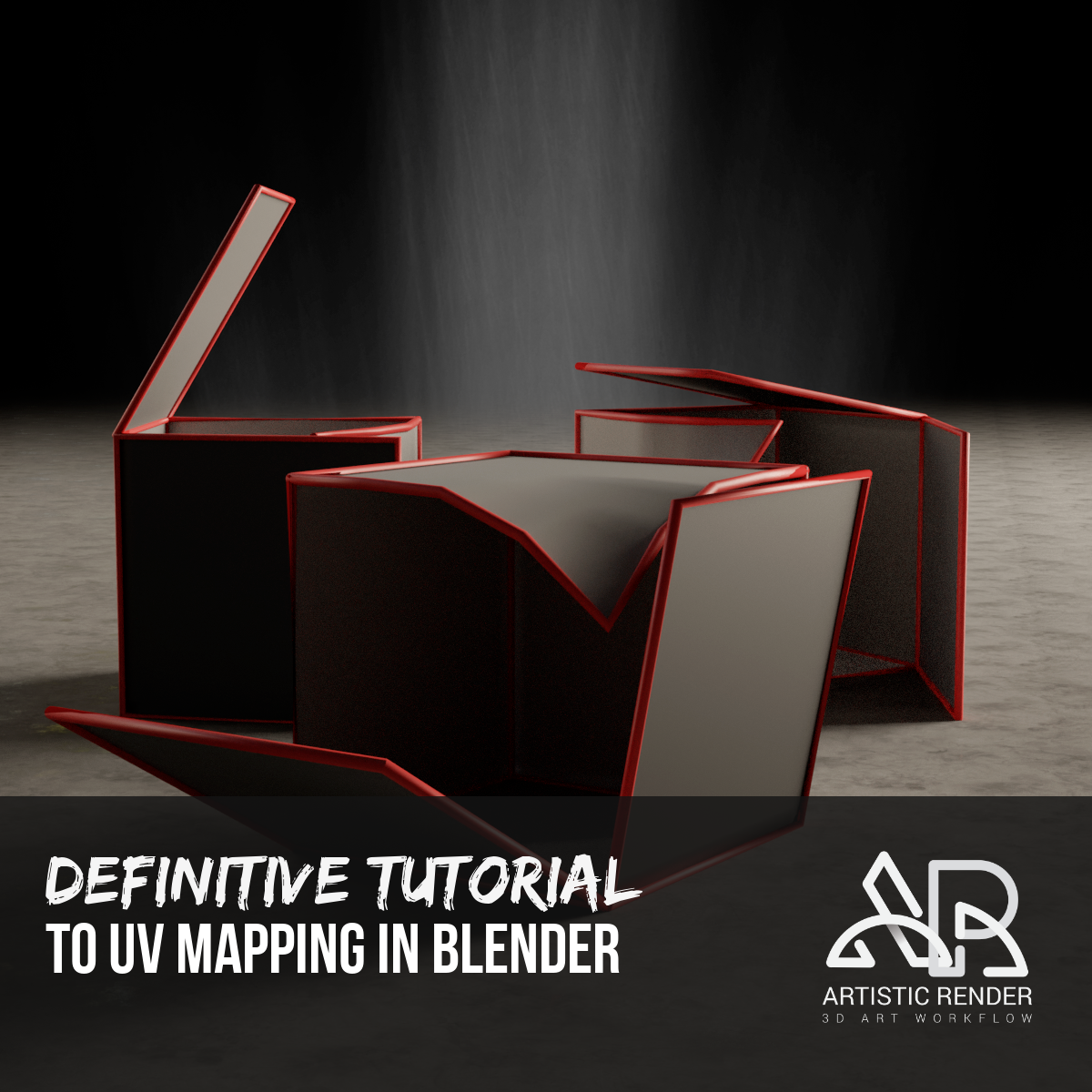 The definitive tutorial to UV mapping in Blender | Artisticrender com