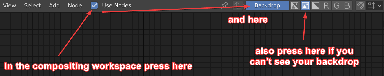 check use nodes and enable backdrop, also switch from alpha and color to just color